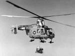 The Husky was the primary emergency rescue helicopter for flight training bases in the 1970s.