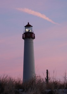 Sunrise at Cape May Light